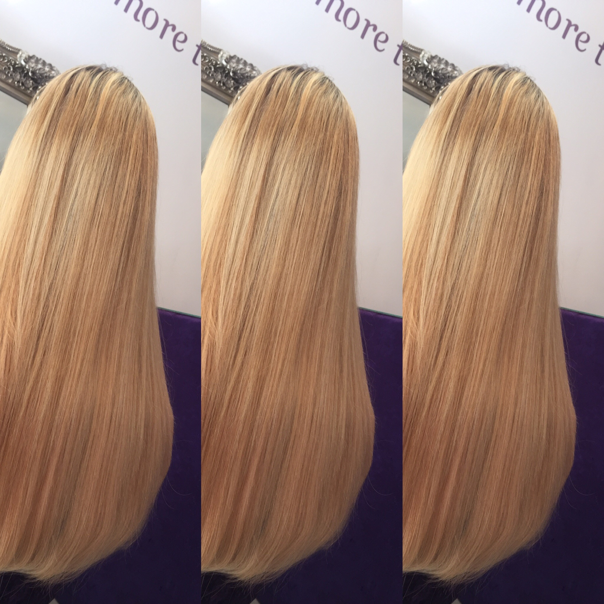 Blonde Transformations Tantrum Hair Extensions